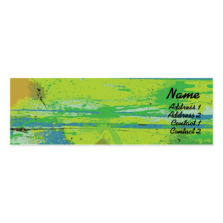 Green Lips - Skinny Pack Of Skinny Business Cards