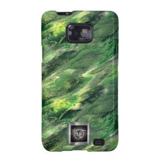 Green Liquid camo Samsung Galaxy S2 case