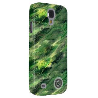 Green Liquid camo Samsung Galaxy S4 case