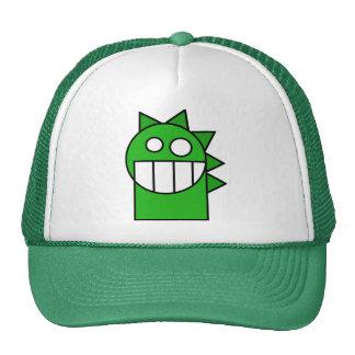Green little dragon hat