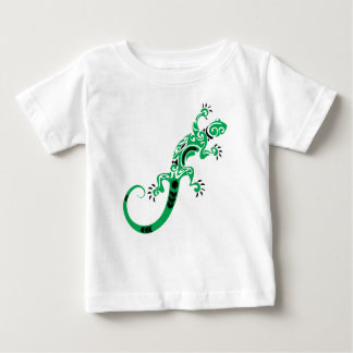 Green Lizard Drawing Baby T-Shirt