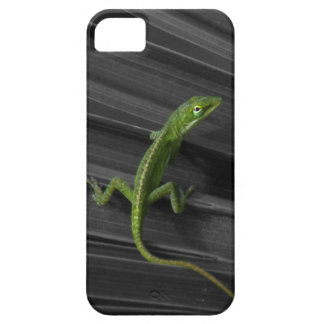 Green Lizard iPhone 5 Barely There Case