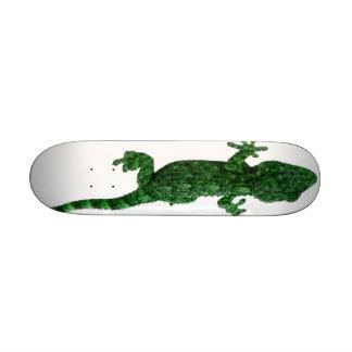 Green Lizard Custom Skate Board