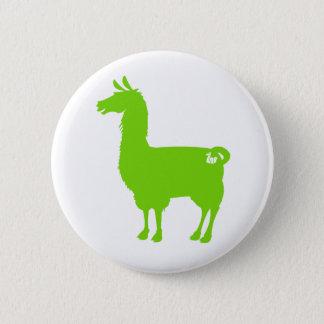 Green Llama Button
