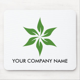 Green Logo 3 Customizable Mousepad