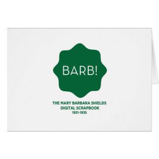 Green Logo Card