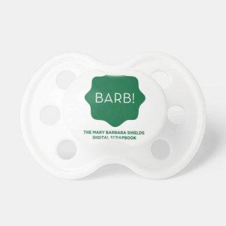 Green Logo Pacifier