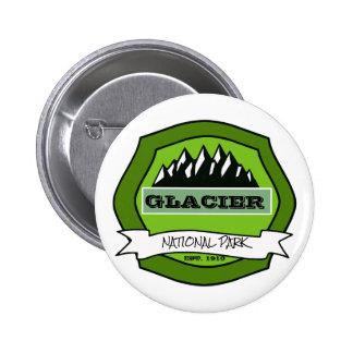 Green Logo Park 2 Inch Round Button