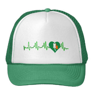 green lucky Irish shamrock st patricks day Hat