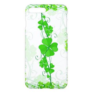 Green Lucky Shamrock iPhone 7 Plus Case