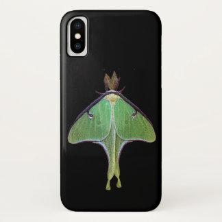 Green Luna Moth iPhone X Case