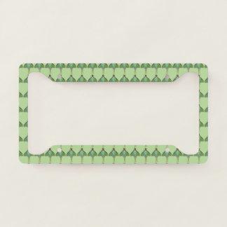 Green Luna Moth Pattern License Plate Frame