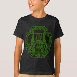 Green Lyre Badge T-Shirt