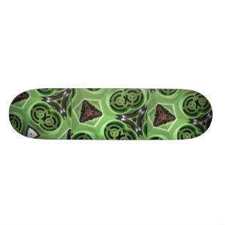 Green Machine FriedlanderWann Design Custom Skateboard