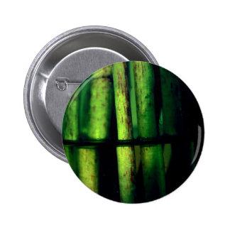 Green macro 2 inch round button