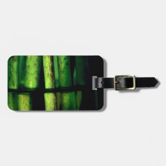 Green macro bag tag