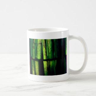 Green macro coffee mug