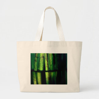 Green macro large tote bag