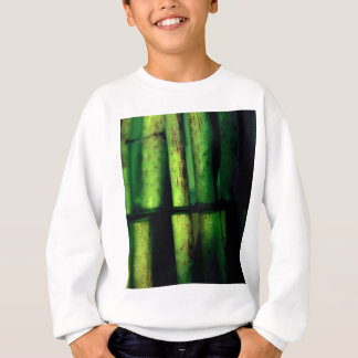 Green macro sweatshirt