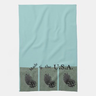Green & Made in the USA Kitchen Towel