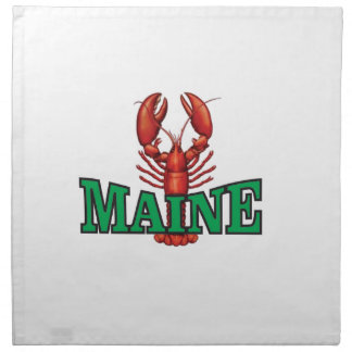 green Maine lobster Napkin