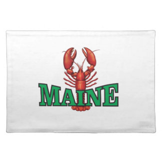 green Maine lobster Placemat