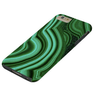 """Green Malachite iPhone 6 Case"" Tough iPhone 6 Plus Case"