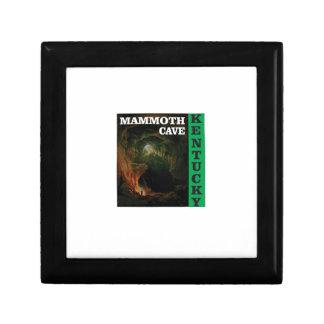 Green mammoth cave Kentucky Gift Box