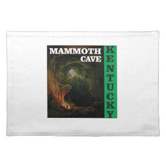 Green mammoth cave Kentucky Placemat