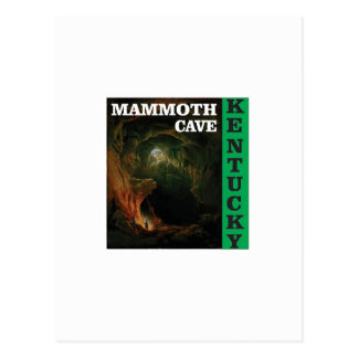 Green mammoth cave Kentucky Postcard