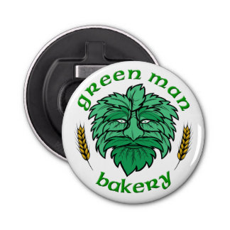 Green Man Bakery Bottle Opener