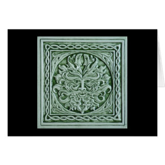 Green Man Card