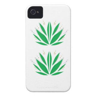 Green mandala  on white iPhone 4 Case-Mate case
