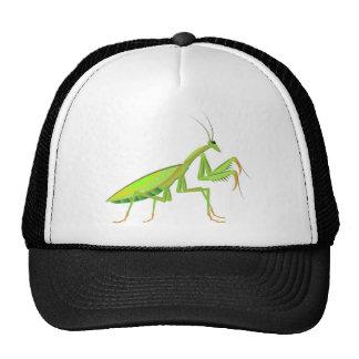 Green Mantis Vector Trucker Hat