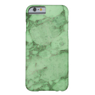 Green Marble Barely There iPhone 6 Case