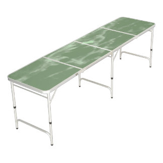 Green Marble Beer Pong Table
