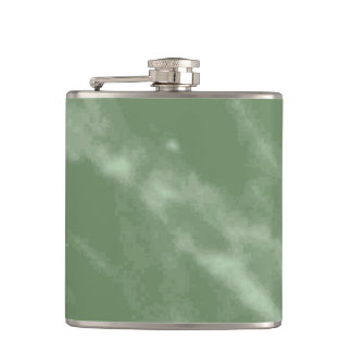 Green Marble Flask