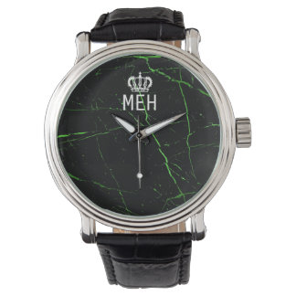 Green Marble Royal Minor Monogram Watch