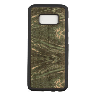 Green Marble Stone Texture Wood Samsung Case