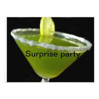 Green margarita card