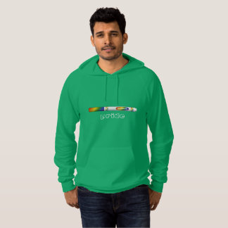 Green Marker Pride Hoodie for male-shaped bodies