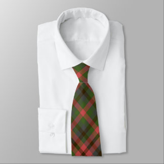 Green Melon Plaid Tie