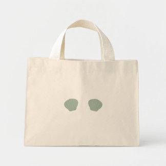 Green Mermaid Bikini Mini Tote Bag