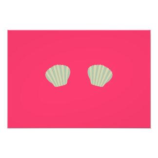 Green Mermaid Bikini Photographic Print
