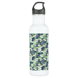 green mermaid skin pattern 710 ml water bottle