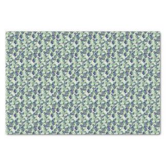 green mermaid skin pattern tissue paper