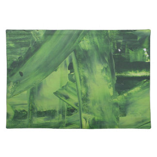 Green Mess Placemat