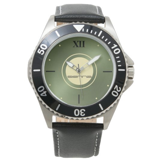Green Metallic  eWatch Watch