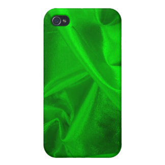 Green Metallic Textile Hard Shell Case for iPhone Case For iPhone 4