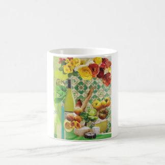 Green Mexican Tile Coffee Mug